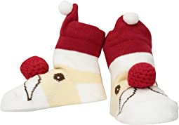 Santa Rattle Toe Socks