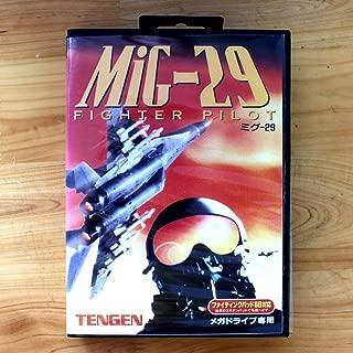 TopFor Mig-29 Fighter Pilot 16 Bit Sega Md Game Card With Retail Box For Sega Mega Drive For Genesis US Shell