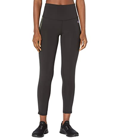 Champion Phys Ed High-Rise Tights (Black/Camo) Women