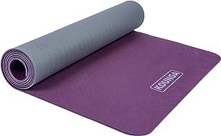 Kounga Yoga Mat Prolight 5 Esterilla, Unisex Adulto, Purple/Grey, One Size