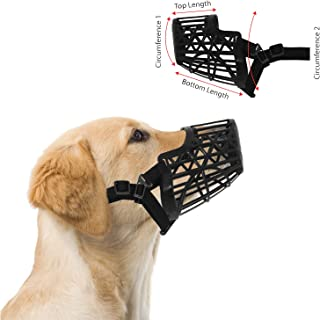 Downtown Pet Supply Basket Cage Dog Muzzle