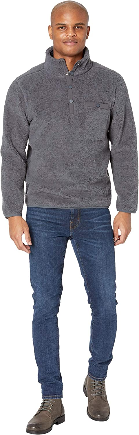 The Normal Brand Henry Sherpa Pullover