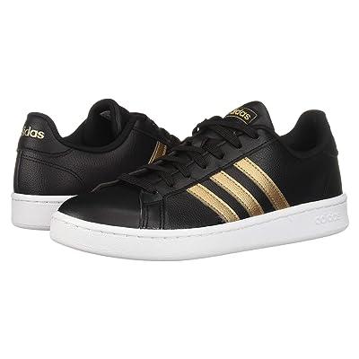 adidas Grand Court (Core Black/Copper Metallic/Footwear White) Women