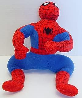 crouching spider man