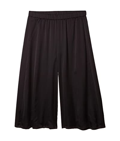 Eileen Fisher Culotte Crop Pants (Black) Women