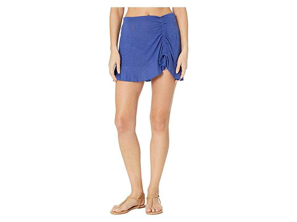 BECCA by Rebecca Virtue Breezy Basics Skirt Cover-Up (Blue Topaz) Women