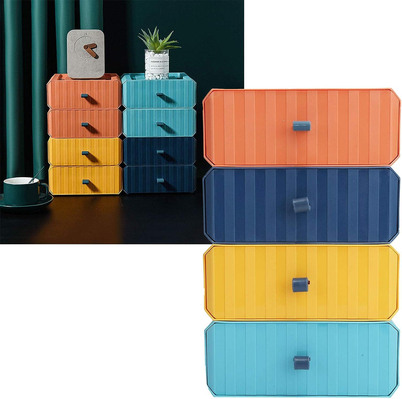 Eosnow Desktop Year-end gift Gorgeous Storage Plastic Multi Box