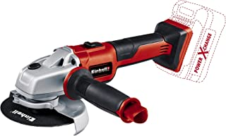 Einhell Axxio Power X-Change Cordless Angle Grinder with Einhell 2.5Ah Power X-Change Starter Kit - Battery & Charger Univ...