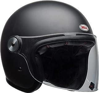 Bell Riot Flip-Up Motorcycle Helmet (Solid Matte Black, Medium)