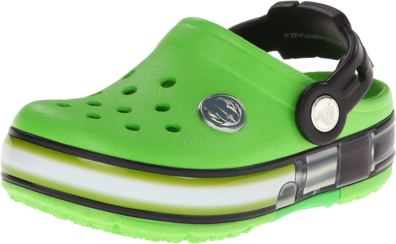 Crocs Kids' Crocslight Star Wars Star Wars Yoda Light-Up Clog (T