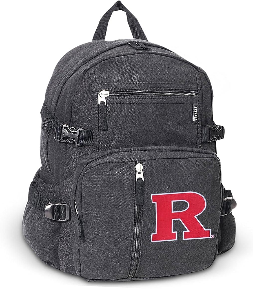 請負業者トレイ原子炉RutgersバックパックキャンバスRu学校や旅行バッグ