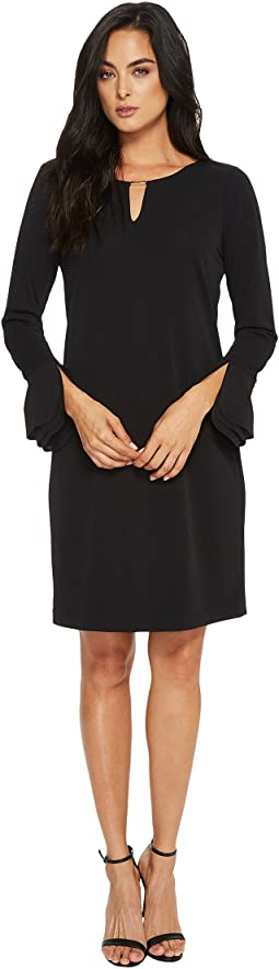 Calvin Klein - Triple Flare Sleeve Dress
