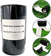 "EasyGoProducts 6''x49 Artificial Grass Self-Adhesive Seaming Turf Tape 15 cm x 15 Meters-6 inches x 49 feet, 6"" x 49.2', Green"