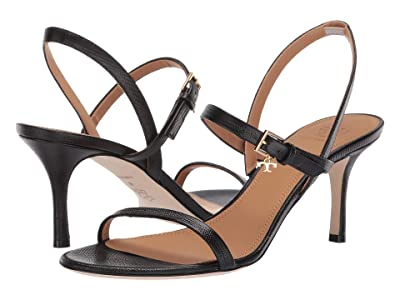 Tory Burch 65 mm Penelope Slingback Sandal (Perfect Black) Women