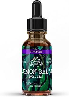 Lemon Balm Tincture, Organic Lemon Balm Extract (Melissa officinalis) Organic Supplement 2 Oz, 670 mg