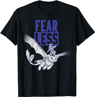 How to Train Your Dragon 3 Hidden World Fear Less T-shirt