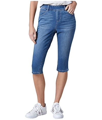 Jag Jeans Bryn Pull-On Denim Pedal Pusher (Mission) Women
