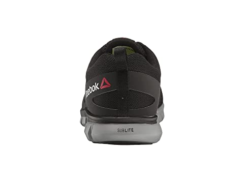 Cushion Black Synthetic Sublite SyntheticGrey Work Red EH Reebok Work LeatherBlack RxawU6nxqE
