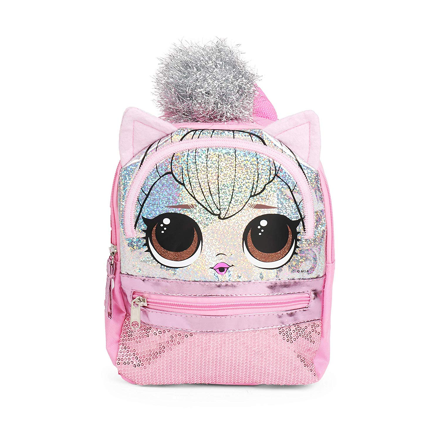 L.O.L. 서프라이즈 '핑크' 미니 백팩 L.O.L. Surprise! Pink Mini Backpack