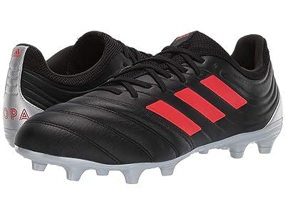 adidas Copa 19.3 FG (Core Black/Hi-Res Red/Silver Metallic) Men