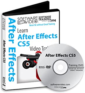 Software Video Learn ADOBE AFTER EFFECTS CS5 Training DVD Sale 60% Off training video tutorials DVD Over 8 Hours of Video Training
