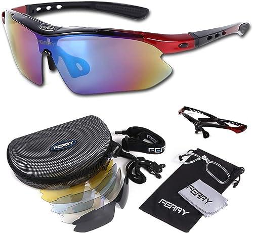 (フェリー) FERRY 偏光レンズ スポーツサングラス