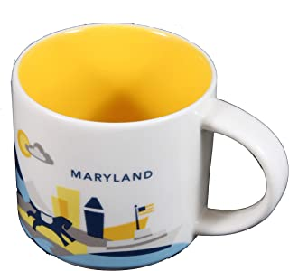 Starbucks Coffee 2015 You Are Here Collection Maryland Mug with Gift Box 14 oz