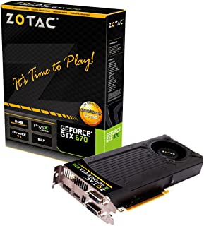 ZOTAC NVIDIA GeForce GTX670 搭載グラフィックカード GTX670 2GB DDR5 日本正規代理店品 (VD4633) ZTGTX670-2GD5R001
