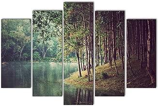 K Dekorasyon Sanat KM5P1911 Mdf Tablo, Çok Renkli