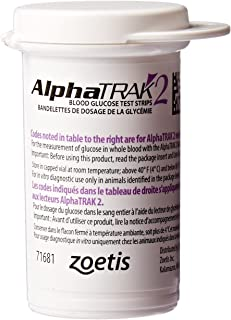 AlphaTRAK 2 Blood Glucose Test Strips, 50 Count