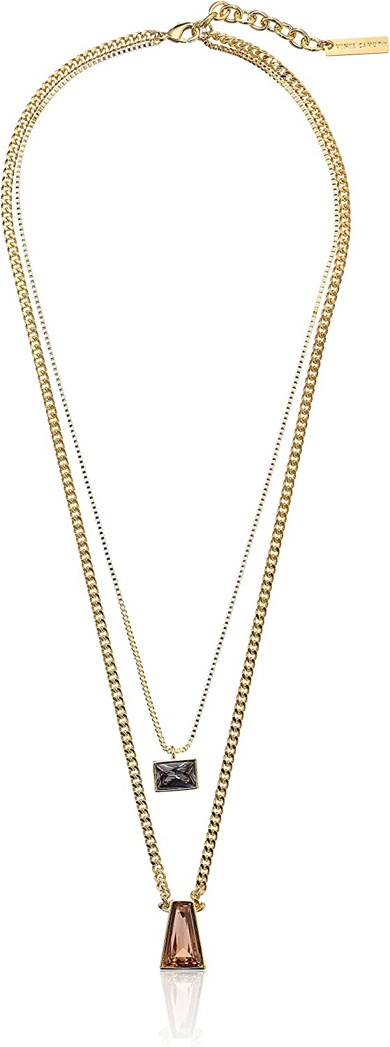 Max 83% OFF Vince Camuto Double Layer Stone Strand New mail order Extend + 2