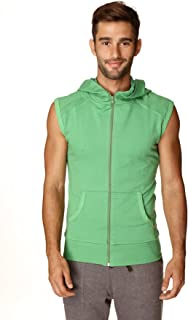 4-rth Men's Sleeveless Transition Workout Hoodie