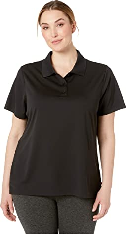 Plus Size Short Sleeve Performance Polo