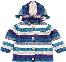 Guy Eugendssg Spring Sweater For Baby Girls Knitted Jackets 3D Rabbit Ear Newborn Boys Cardigans Coats