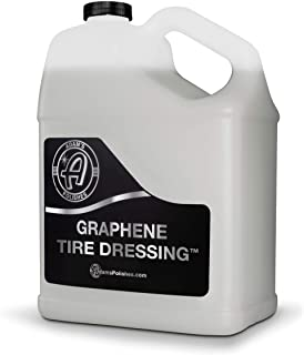 Adam's Graphene Tire Dressing - Deep Black Finish W/Graphene Non Greasy Car Detailing | Use W/Tire Applicator After Tire C...