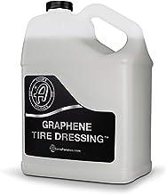 Adam's Graphene Tire Dressing - Deep Black Finish W/Graphene Non Greasy Car Detailing | Use W/Tire Applicator After Tire C...