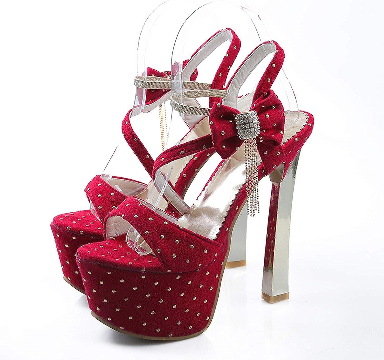 Mo Duo Sweet Wedding shoes Platform Sandals Party shoes Heels Sandals Thin Heels Women Sandals