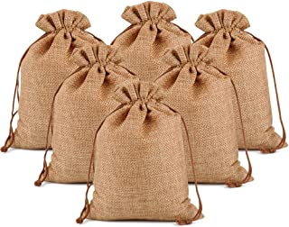 groceries primitive 3 sizes going to bhe beach Burlap bag with Handle rustic country bags favors very good for weddings BHBK1xx-12