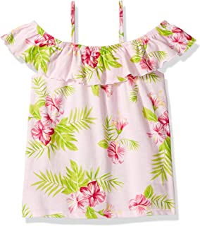 The Children's Place Big Girls' Cold Shoulder Printed Top