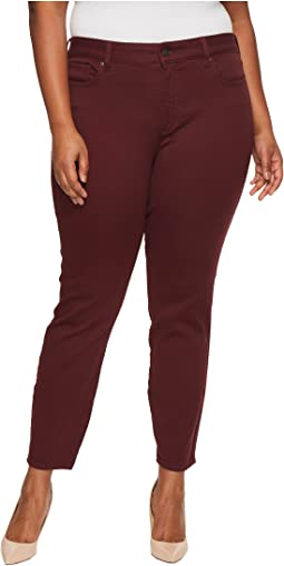 Plus Size Ami Skinny Leggings in Deep Currant
