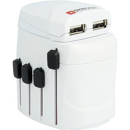 Skross Zub Skr Wad Prousb W Mit Ladegeräte Pro Usb Weiß Computer Zubehör