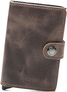 Secrid - Porte-cartes Miniwallet Vintage taille 10.2 cm