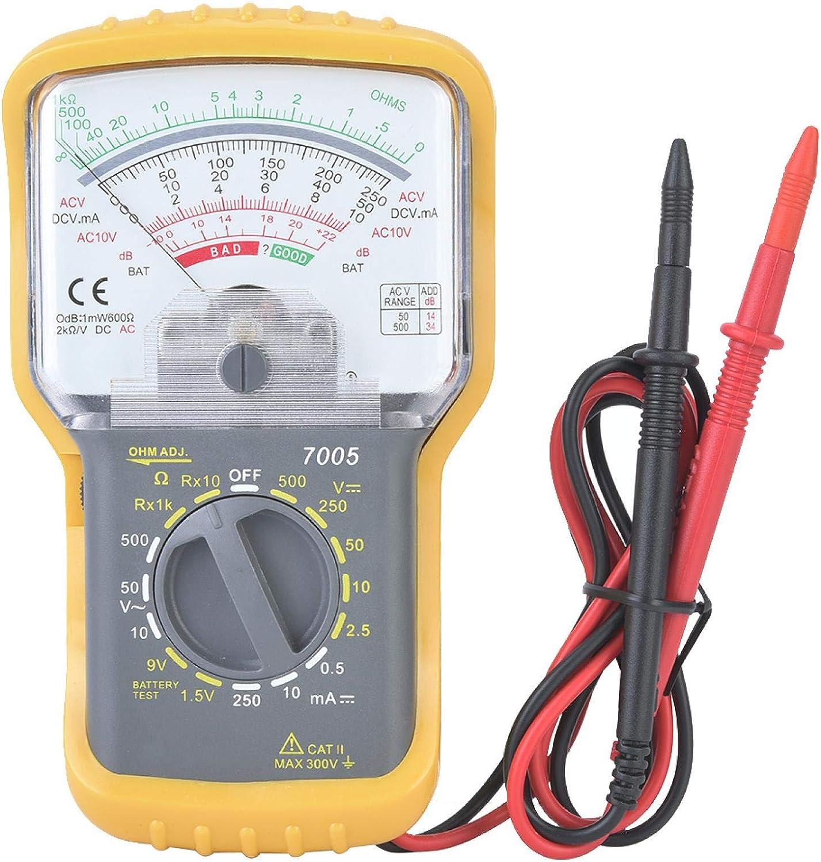 KT7005 Portable Integrated Manual Range 2021 new Multimeter 15 Ran Analog Limited time sale