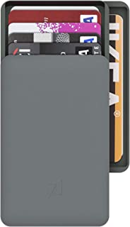2+|Aluminum RFID Blocking Wallet with Double Compartments