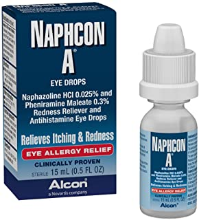Naphcon-A Eye Drops, 15-mL