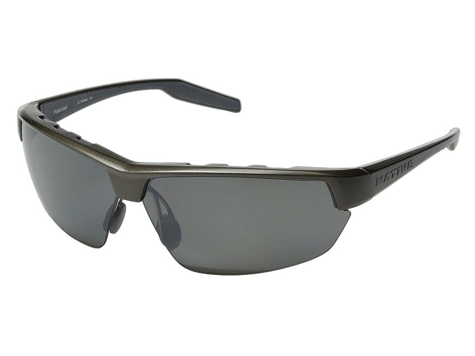 Native Eyewear Hardtop Ultra (Gunmetal/Silver Reflex) Sport Sunglasses