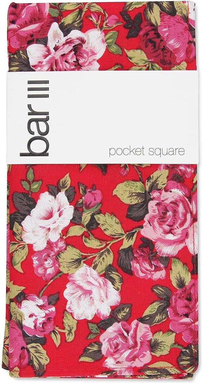Bar III Mens Carson Floral Lightweight Pocket Square