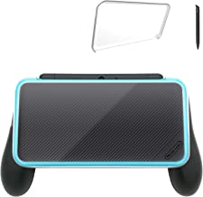 [Updated]Hand Grip for Nintendo 2DS XL with 1 Stylus and 1 Clear Case for Nintendo 2DS XL