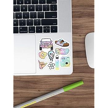 Zantec 50pz Sticker Valigia Carino per Bambine Adesivi Impermeabili per Auto Zaino Bici Frigorifero Decorazione della casa Serie B