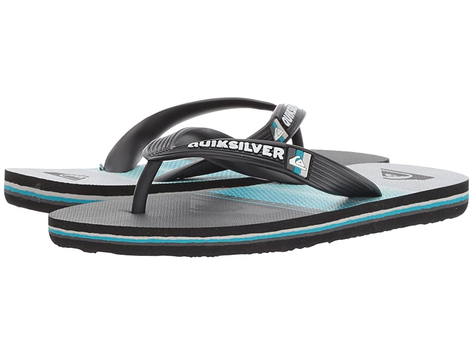 Quiksilver Kids Molokai Highline Slab (Toddler/Little Kid/Big Kid) (Black/Blue/Grey 2) Boys Shoes